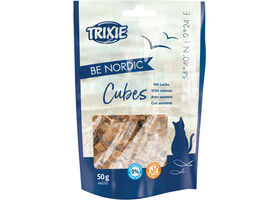 Лакомство TRIXIE BE NORDIC Cubes (лосось 50g) - Trixie