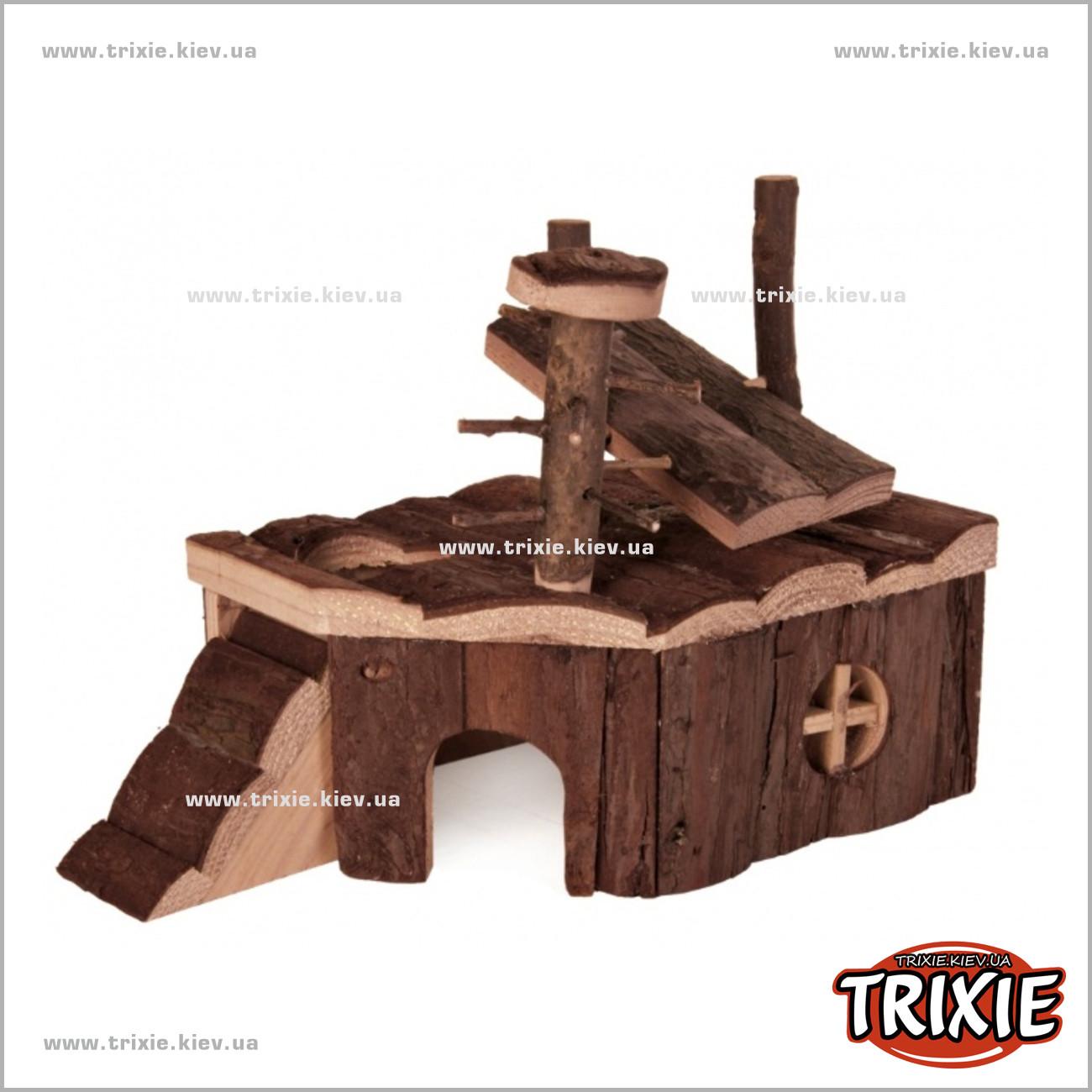 Сделать деревянный домик для хомяка своими руками
